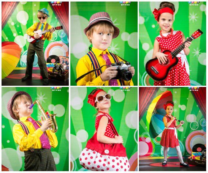 фотосъемка в костюмах стиляги детский сад