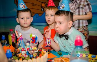 Фотограф на день рождения. С друзьями