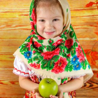 Фотограф в детский сад. Русская осень. Осенняя фотосъемка. Костюмы