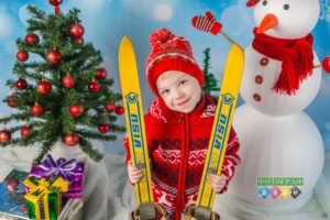 Зимняя костюмированная фотосъемка. Зимняя фотосессия для детей Фотограф в детский сад