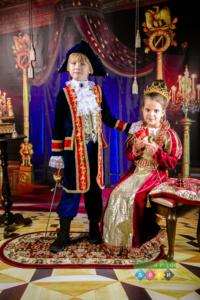 Фотограф в детский сад. Фотосъемка в костюмах в царском стиле. Королевские наряды