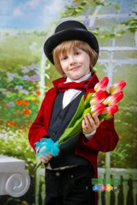 Весенняя фотосессия в детском саду. Фотостудия с костюмами. Фотосъемка весной