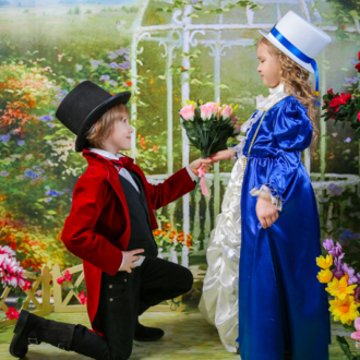 Фотограф в детский сад. Весенняя фотосессия. Фотостудия с реквизитом. Поэтическая весна