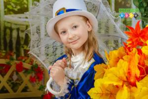 Осенняя фотосъемка в детском саду Поэтическая Осень