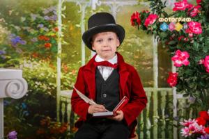 Весенняя фотосъемка в детском саду. Постановочные весенние портреты. Фотограф в детский сад