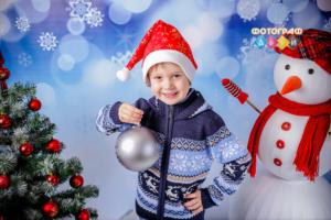Новогодняя костюмированная фотосъемка в детском саду