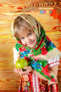Осенняя фотосъемка в костюмах для детей. Осень в детском саду