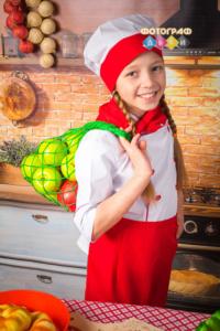 Костюмированная фотосъемка в детском саду Поварята Детская фотосессия Маленькие повара на кухне.