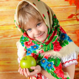 Осенняя тема для детской фотосессии