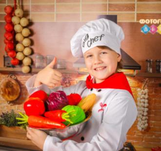 Поварята Детская фотосъемка Маленькие Повара. Костюмированная фотосессия в детском саду Повар на кухне