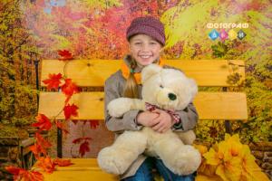 Осенняя костюмированная фотосъемка в детском саду. Осенний парк. Фотосессия осенью