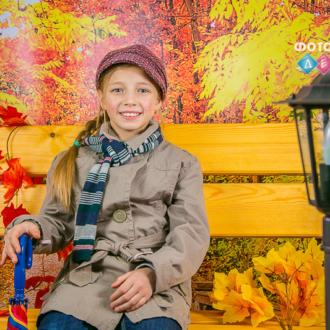 Осенняя костюмированная фотосъемка в детском саду