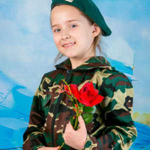 23 февраля в детском саду. Детская фотосъемка в костюмах день защитника отечества