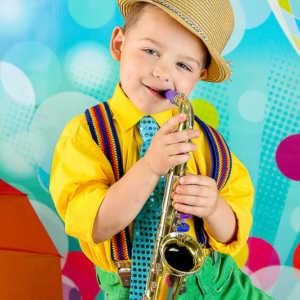 Фотограф в детский сад с костюмами Стиляги. Фотосъемка в детском саду