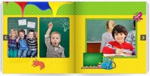 Фотоальбом детский на выпускной. Альбом с фотографиями на скрепках
