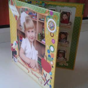 Фотоальбом для детского сада. Выпускной фото альбом