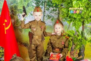 9 мая День победы детская костюмированная фотосъемка