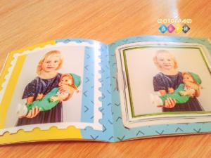 Фотоальбом на скрепках Фотокнига для детского сада