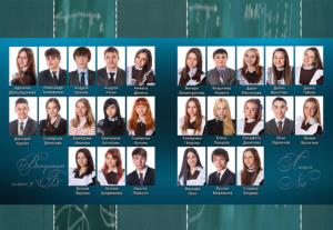 Выпускной альбом виньетка школьный фотоальбом