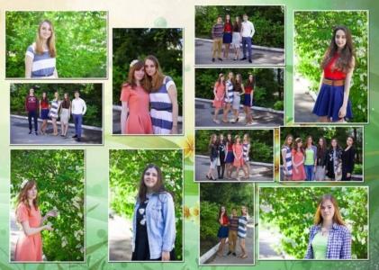 Выпускной фотоальбом 11 класс Альбом выпускника