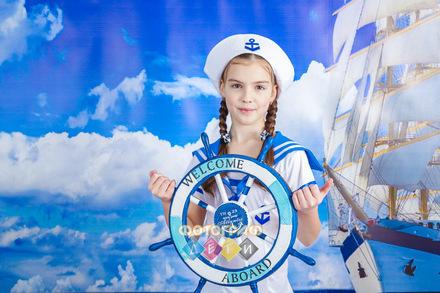Фотосъемка в школе Морская тематика для 1 и 2 класса