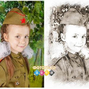 Портрет по фото карандашом. Рисуем портрет по фотографии простым карандашом